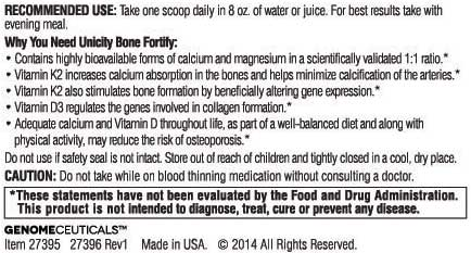 Bone Fortify Recommended Use