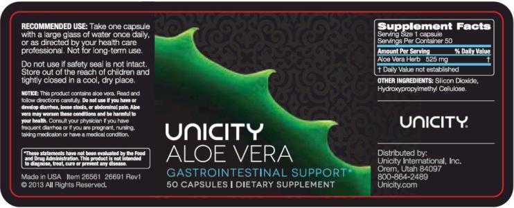 Aloe Vera Ingredients